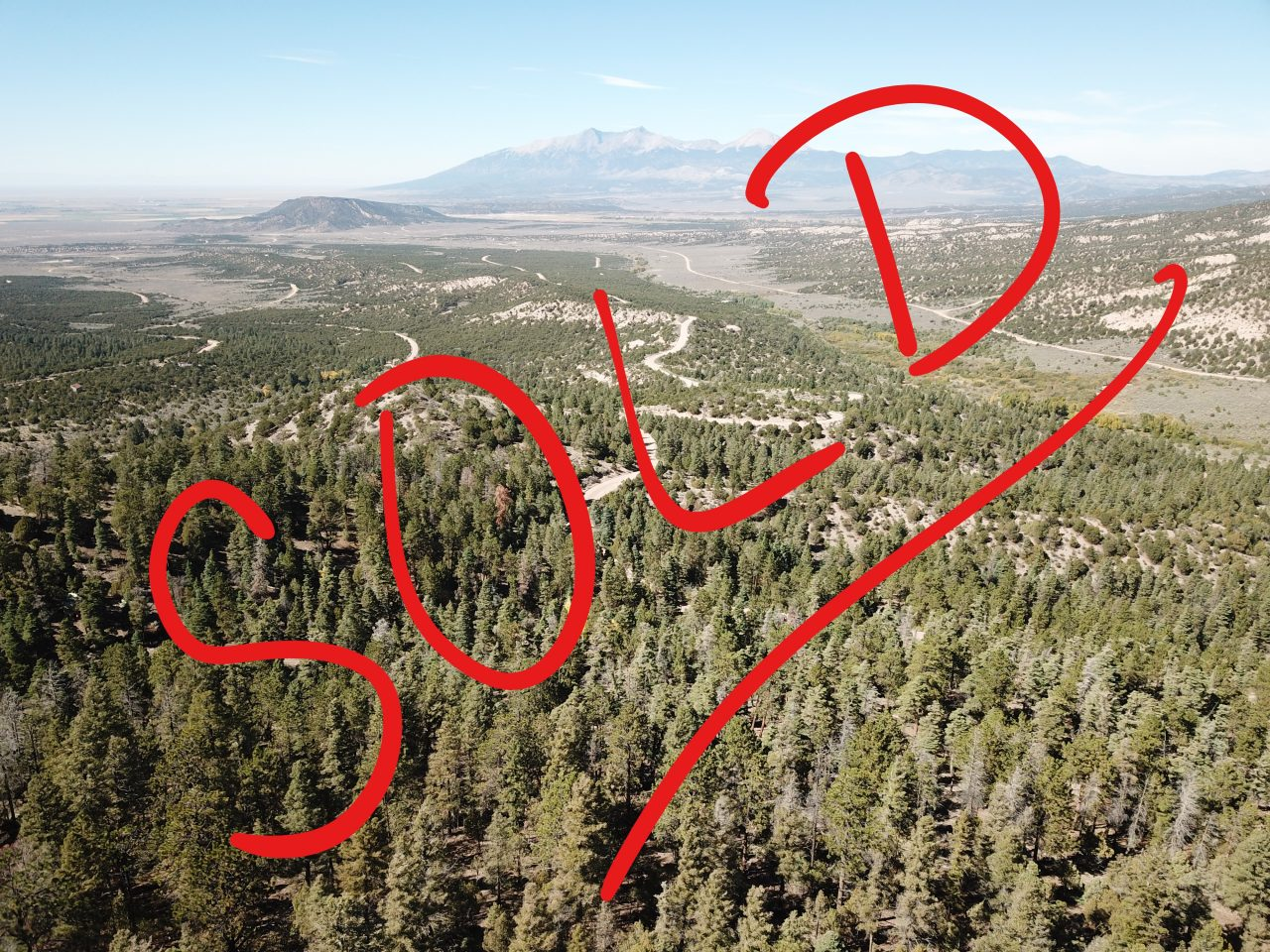 SOLD -> CO Mountain Getaway – 5 acres of endless pines