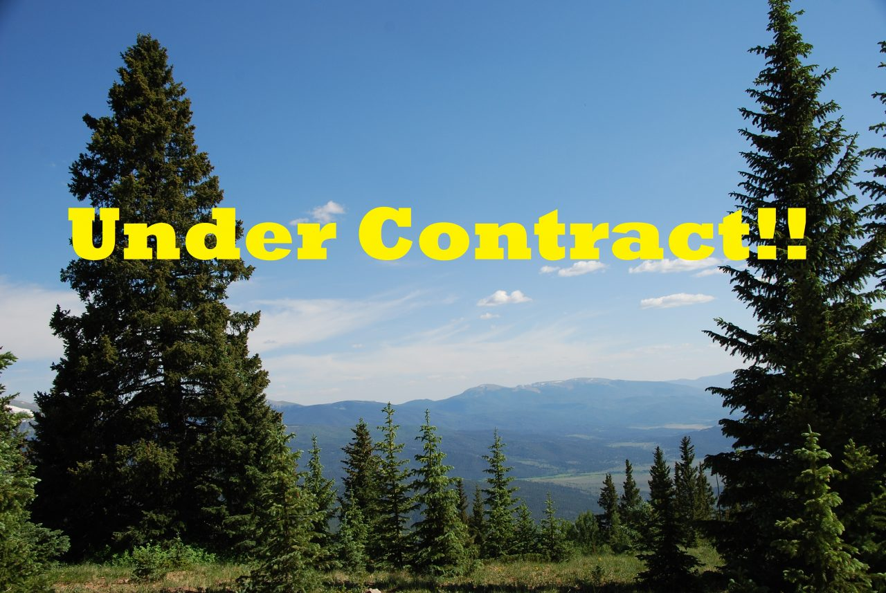 Under Contract —                   5.8 Ac CO Mountaintop Oasis