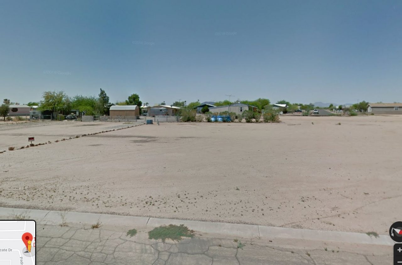 SOLD —> Arizona City Residential Lot