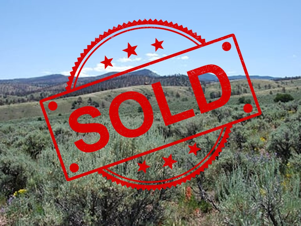 SOLD -> 5 Foothill Acres = Freedom