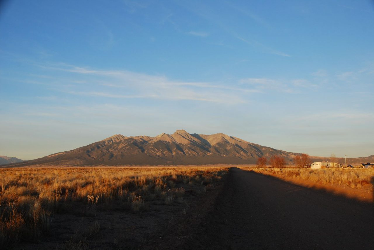SOLD -> 5 acres at the foothills of Mt. Blanca